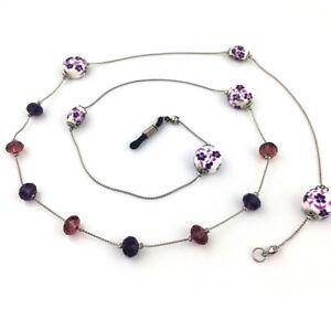 Women-Casual-Beaded-Eyeglass-Rope-Glasses-Neck-Strap-Glasses-Chain-Holder-Cord