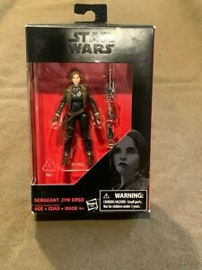 Star Wars Rogue One Sergeant Jyn Erso Hasbro Action Figure NEW MIP