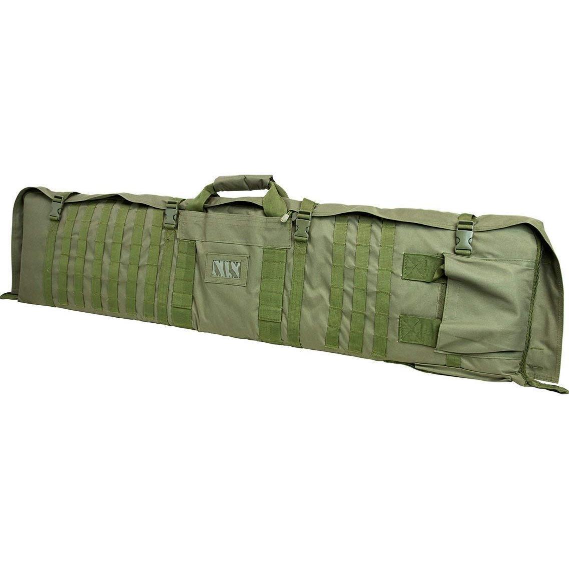NCSTAR Tactical 48  verde maletín para rifles que se despliega a una estera de disparo de 66