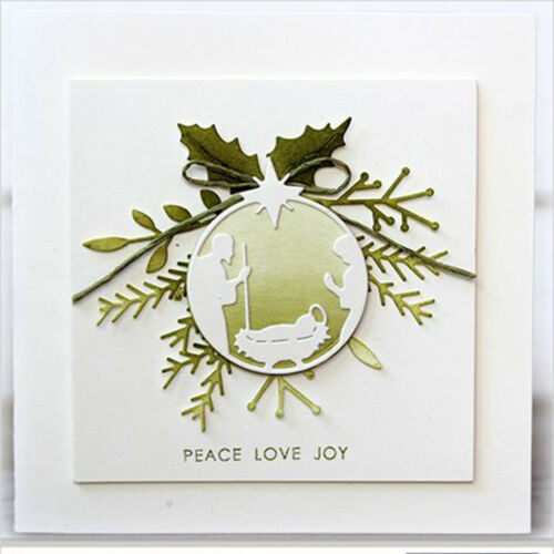grass Cutting Dies Scrapbooking Embossing Card Making Paper Craft Die/_H