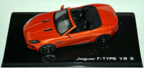 Jaguar F-Type V8 S 5.0 Roadster 2012-14 Firesand orange metallic 1:43 Ixo