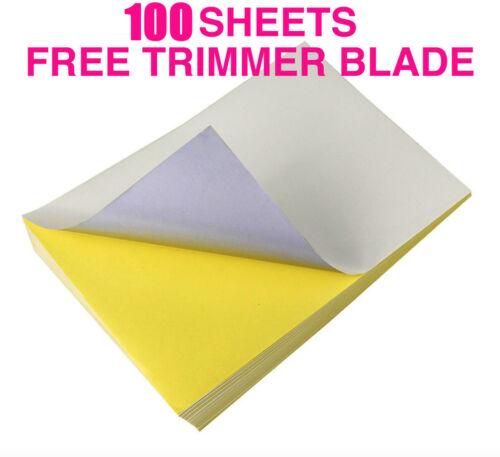 Aufkleber,Lieferung,Paket, Mattweiß 70 Selbstklebend A4 Druck Papier