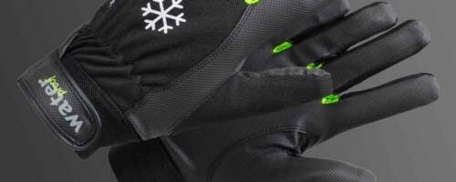 TEGERA Winter Fleece Lined Waterproof Windproof Thermal Gloves Cycling Walking