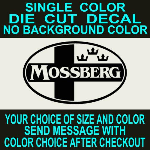 toolbox  sticker Mossberg Firearms logo vinyl decal.Gun case car,truck,window