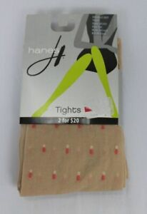 Hanes-Double-Dot-Tights-Nude-Coral-0C251
