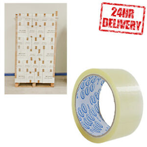 1 Pallet (90 Boxes) LIBRHI Clear 48mm x 50m Parcel Packing Tape CLEARANCE