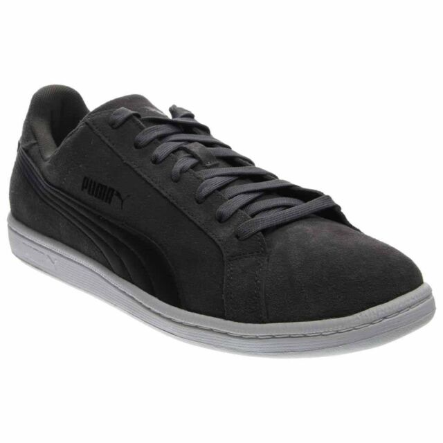 Puma Smash Suede Leather  Casual   Sneakers - Grey - Mens