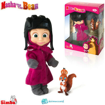 Cartoon Character Masha Cook SIMBA Masha and The Bear Doll Toy Gift Box