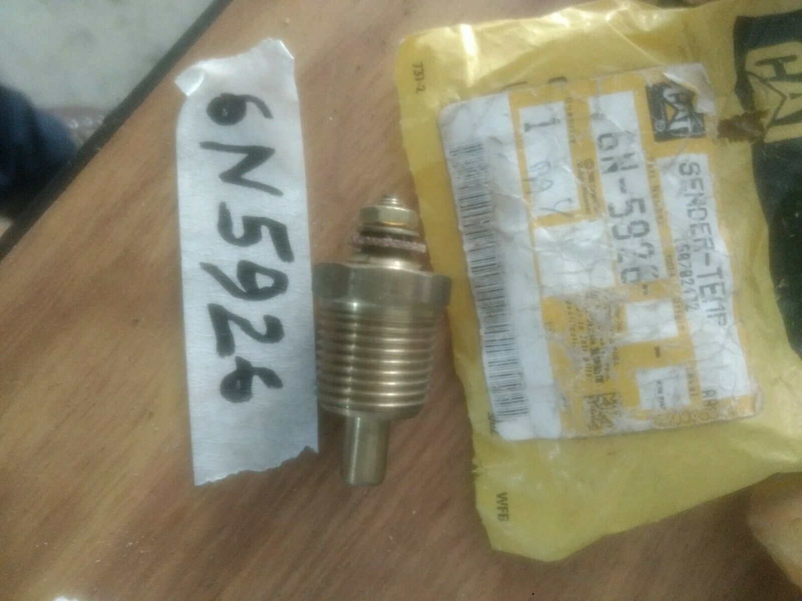 CATERPILLAR SENDER-TEMP 6N5926 NEW