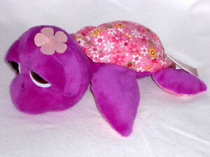 SUKI-Schildkroete-Petal-mittel-Turtle-25-cm-lila-rosa