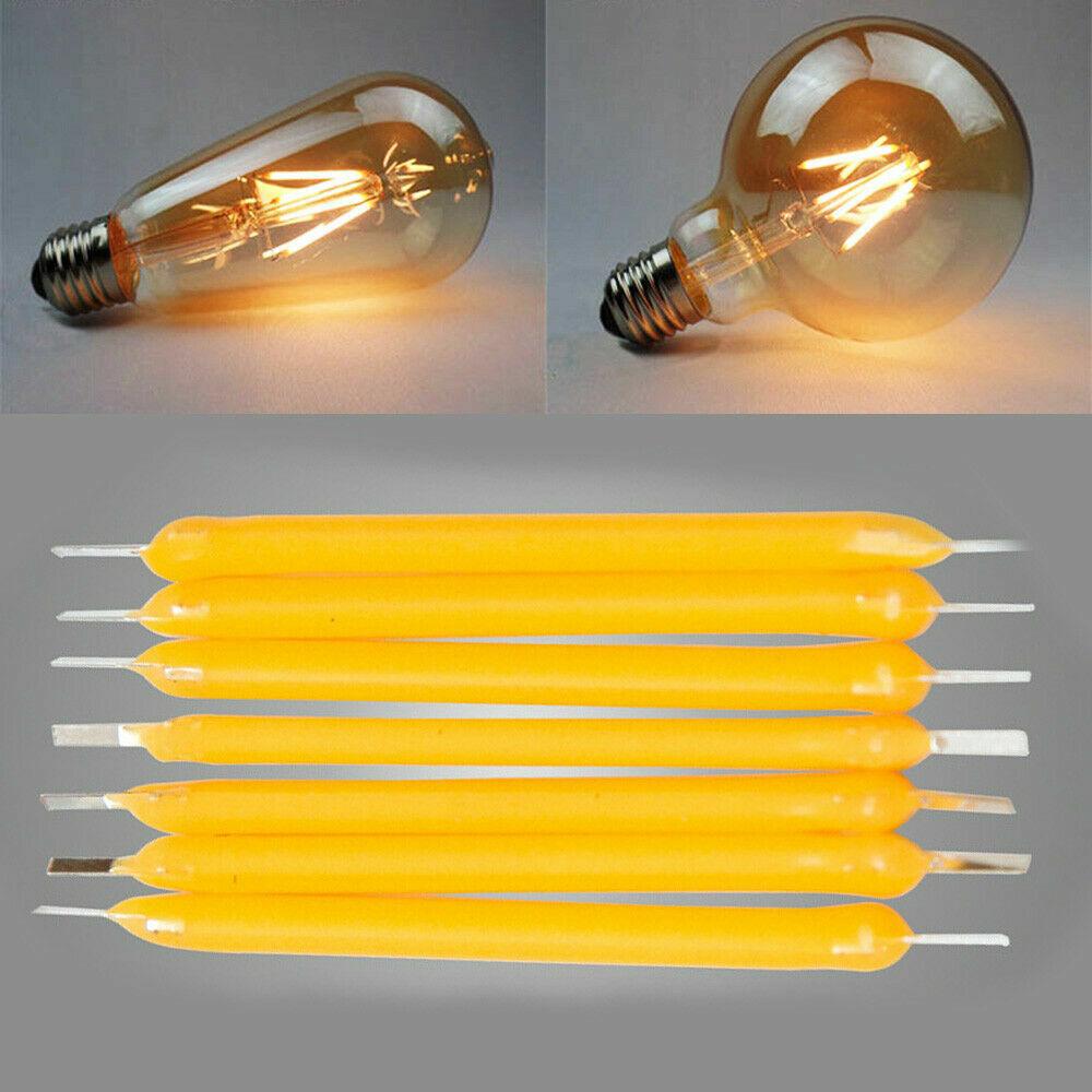 B906 Filament Bulb Candle Light Source Super Bright LED COB SSL 5Pcs//Set