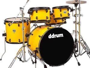 dDrum-Journeyman-Series-Gen2-Player-Basswood-Birch-5Pc-Drum-Set-Flash-Yellow