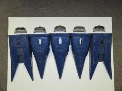 Hensley Style 5 Pack 2-X400WT Twin Tiger /& 3-X400T Tiger Teeth/& 5-P400 Flex Pins