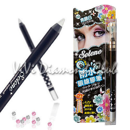 SOLONE Magic Waterproof Eyeliner Smudger Shinning Pencil 1.5g WATERPROOF