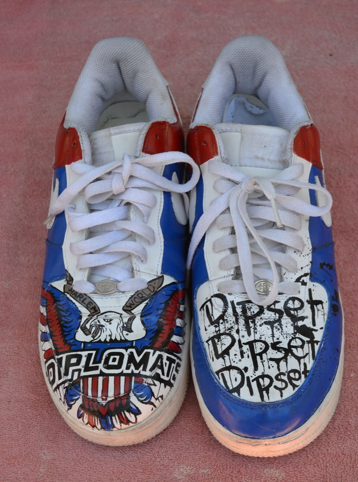 NIKE AIR FORCE 1 '82 PATRIOTIC RED WHITE BLUE  Price reduction