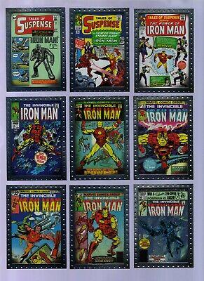 CC9 MARVEL IRON MAN MOVIE 2 2010 UPPER DECK COMIC COVERS INSERT CARD SET CC1