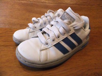 Adidas Neo Casual Zapatillas de cuero blanco tamaño de Reino Unido 11K 29 euros