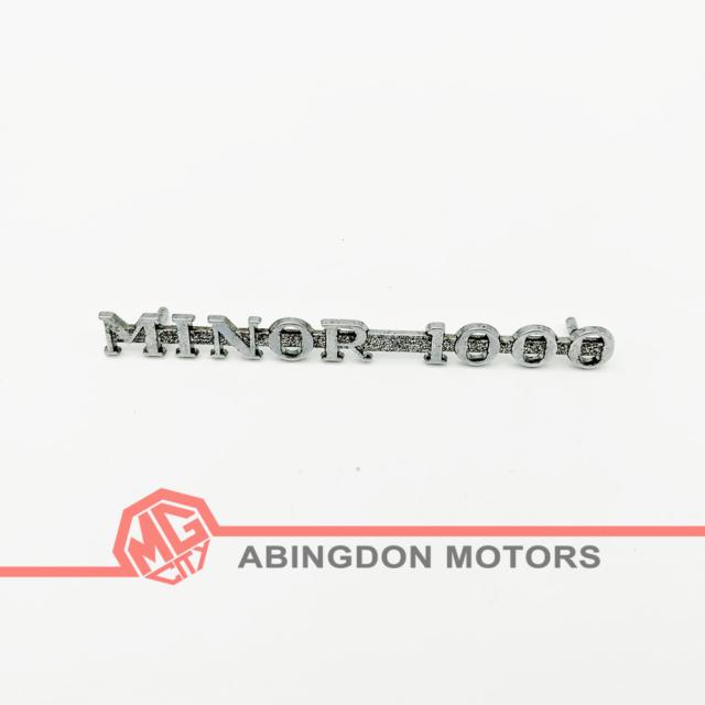Morris Minor Bonnet Badge Motif Emblem Gasket