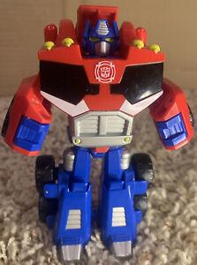 Transformers Rescue Bots Optimus Prime Rescue Playskool Lot