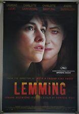 LEMMING ROLLED ORIG 1SH MOVIE POSTER CHARLOTTE GAINSBOURG RAMPLING (2005)