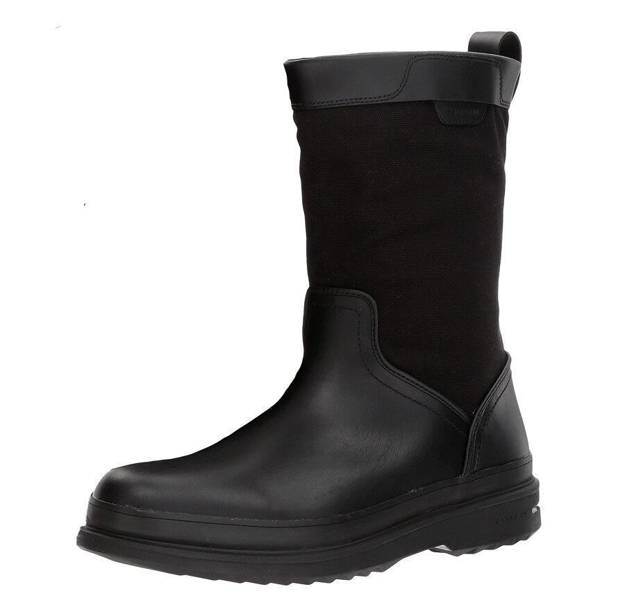 New COLE HAAN Millbridge Pull-On Leather Waterproof Men Boots