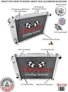 1967 1968 1969 1970 Ford And Mercury 4 Row Quality Champion Aluminum Radiator