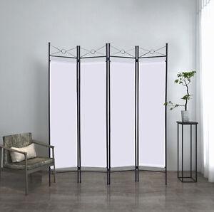 4tlg paravent trennwand raumteiler spanische wand umkleide. Black Bedroom Furniture Sets. Home Design Ideas
