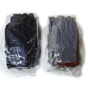 10 Paires De Polyuréthane Palm Coated Nylon Multipurpose Gants De Travail-afficher Le Titre D'origine Nouveau Design (En);