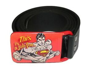 Verantwortlich Dc Comics - Superman Herren Gürtel - This Is A Job For!