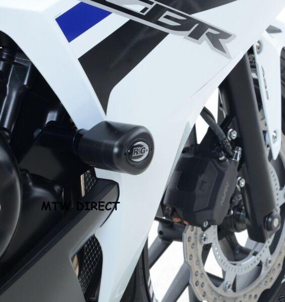 Snelle Levering R&g Racing Pair Black Aero Crash Protectors For Honda Cbr500r 2016 No Mods
