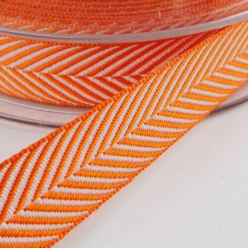 15 Color Hermoso Chevron Herringbone cinta de raso Arco 10 16 25mm compre 1 2 4 8m