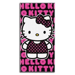 hello kitty pop kitty design 30x60 fiber reactive cotton beach towel rh ebay com design hello kitty mio design hello kitty border
