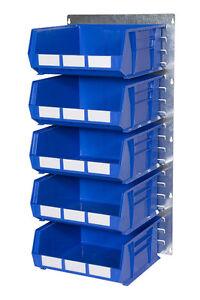 louvre panel parts bin kit 16 heavy duty workshop warehouse