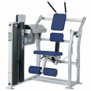 hammer strength mts abdominal crunch selectorized weight
