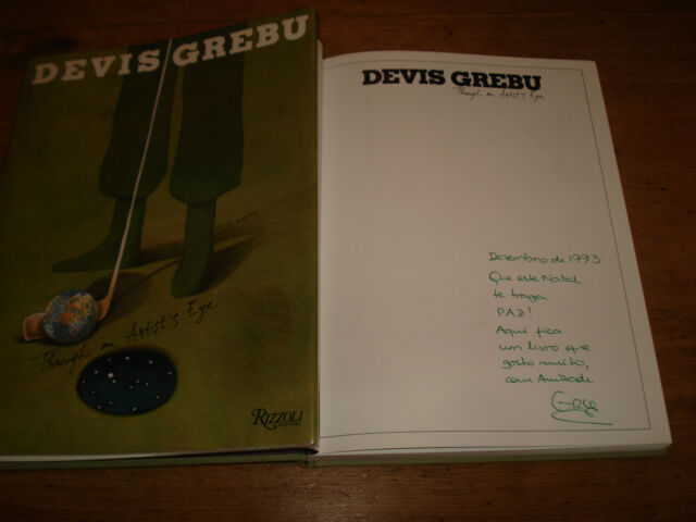 Devis Grebu: Through an Artist's Eye,RARE SIGNED COPY,F/E H/B 1988