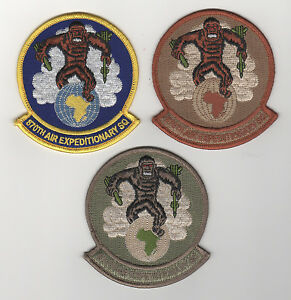 Details about USAF Patch 870th AIR EXPEDITIONARY SQUADRON - 3 Piece Set