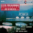 Bohuslav Martinu: Symphony No. 6 (Fantaisies symphoniques); Leos Janacek: Sinfonietta; Josef Suk: Fantastick' Scherzo (CD, Nov-1990, Chandos)