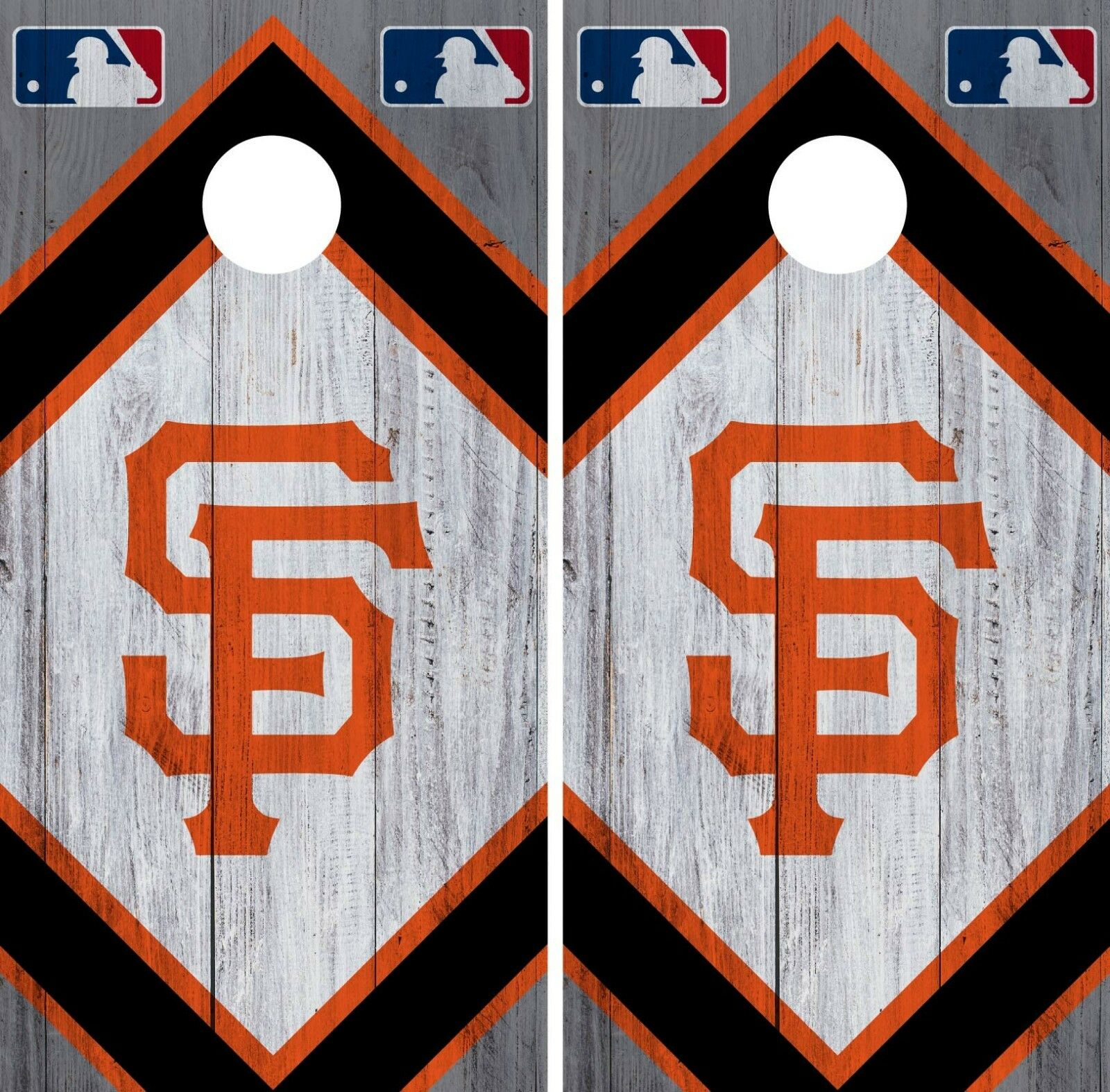 San Francisco Giant Cornhole Wrap MLB Wood Game Board Skin Set Vinyl Decal CO530