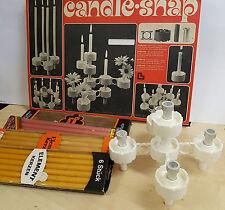 CANDLE Snap candele in + 24 CANDELE elemento elemento-CANDELE OVP 70er 80er anni