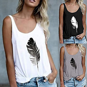 Damen Camouflage Weste Bluse Shirt  T-Shirt Tops Oberteile Sommer Tee Tanktops