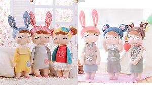 New Metoo Angela Sleeping Birthday Girl Stuffed Plush Baby Toy Xmas Gift Doll