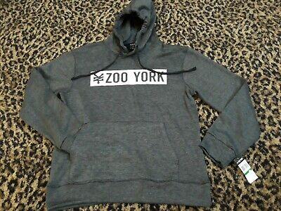 Men/'s Zoo York Hoodie Pullover Printed Jumper Sweatshirt Jacket Top Zipped