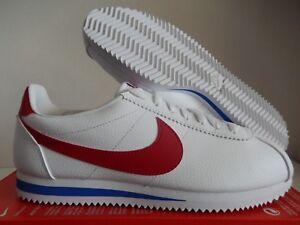 Sz 154 blanco cuero 9 rojo Cortez forrest Gump Nike Classic 749571 823233724020 nBX8wqXR