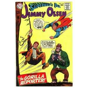 Superman-039-s-Pal-Jimmy-Olsen-1954-series-116-in-F-minus-cond-DC-comics-nh