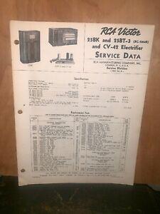 Details about RCA Victor 25BK,25BT-3 & CV-42 Radio Service Manual  on synthesizer schematics, antique radio schematics, zenith schematics, 4cx1500b amplifier schematics, whirlpool schematics, tube audio amplifier schematics, otl amplifier schematics, yamaha schematics, usb schematics, kitchenaid schematics, radio shack schematics, magnavox schematics, bose schematics,