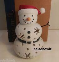 Partylite Santa Snow Tealight Holder Add To Family P91946 Mr Mrs Jr Freeship
