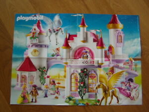 Kleines-Poster-Playmobil-Prinzessin-A3-wie-NEU-Girlies