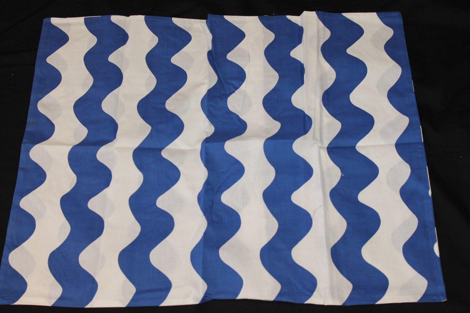 Zig Zag Twin Duvet Set bluee White 2 pc nwop