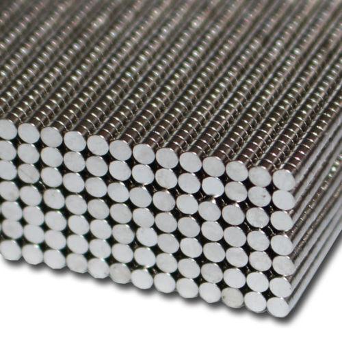 Magnete Neodym Kühlschrankmagnete Mini starke Haftkraft 3mm x 1mm 10 Stk