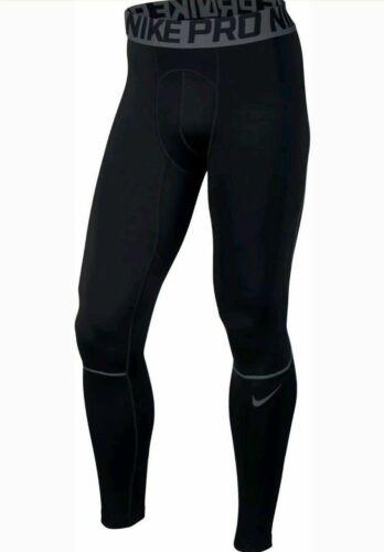 Nike Pro Hyperwarm Compression Men/'s Tights Black Grey Sz S 802002 010